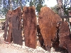 REDWOOD SLABS FOR FURNITURE USE